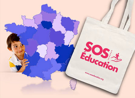 Sac Tote Bag SOS Education jeunesse