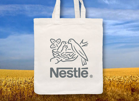 Sac tote bag agroalimentaire Nestlé - Suisse