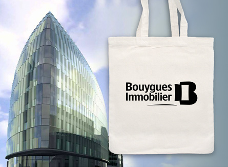 sac tote bag Bouygues Immobilier promotion