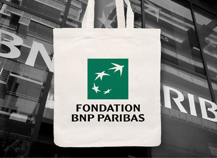 sac tote bag BNP Paribas Fondation Art Culture