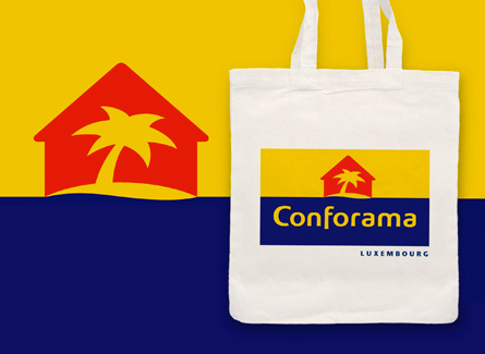 Sac tote bag Conforama Ameublement Promotion