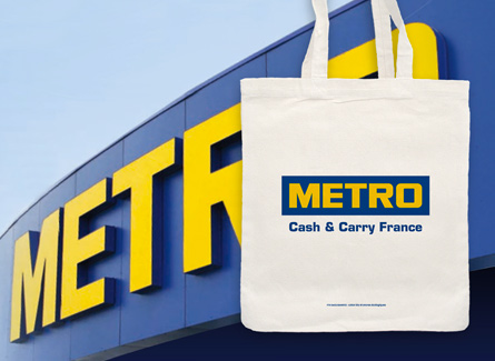 Sac tote bag Metro Grossiste Fournisseur