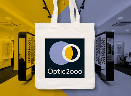 Sac tote bag Optic 2000 opticiens lunetiers