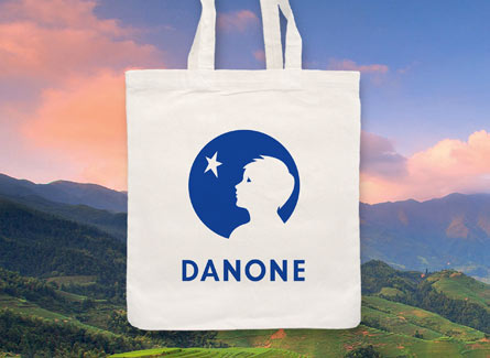 Sac tote bag Danone Agroalimentaire