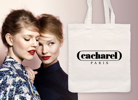 Sac tote bag Cacharel Paris