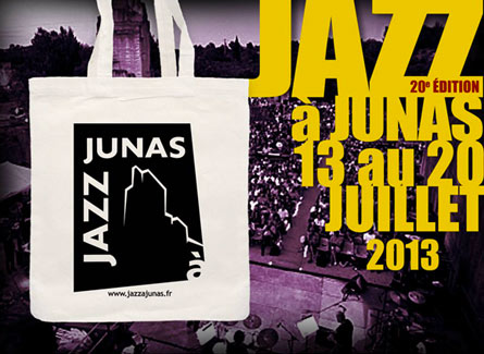 sac tote bag jazz à Junas