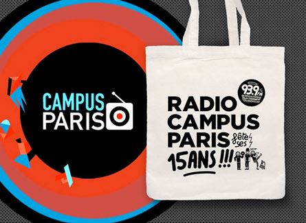 Sac radio Campus Paris