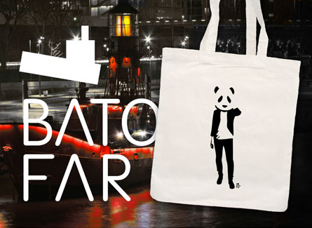 sac tote bag salle cafe batofar paris
