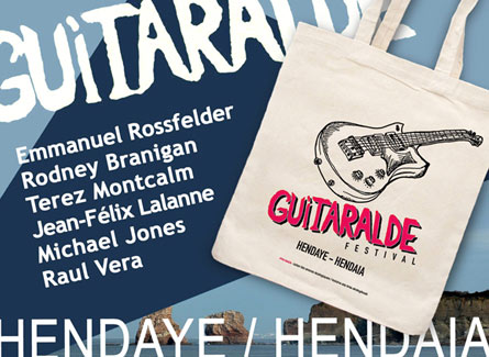 sac tote bag guitaralde hendaye