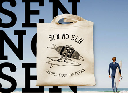 sac tote bag sen no sen surfwear promotionnel