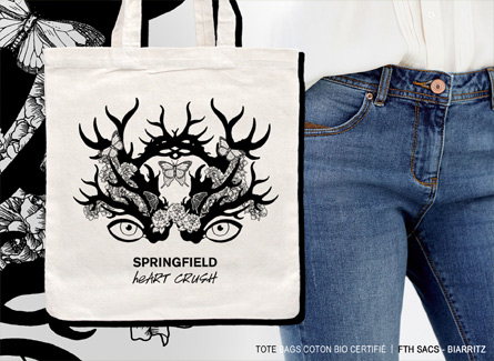Sac tote bag Springfield vêtements