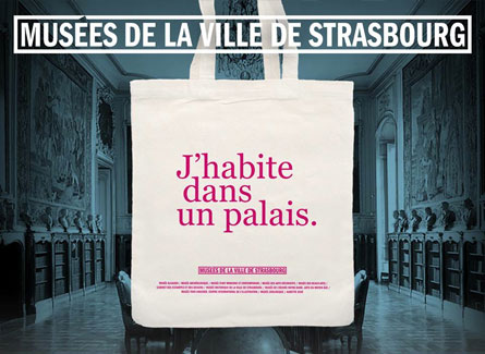 Sac publicitaire coton bio personnalisable strasbourg musee