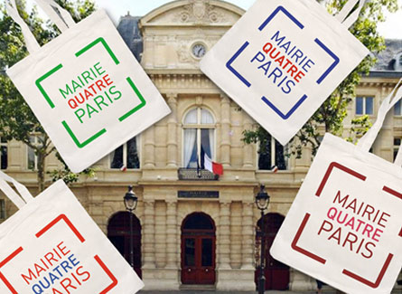 Tote bag Mairie 4 Paris