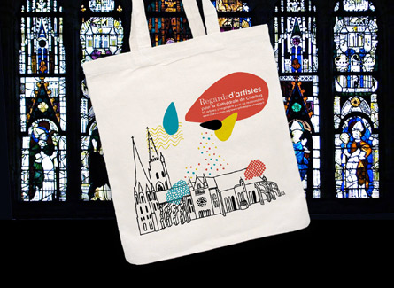 Sac tote bag cathedrale Chartres