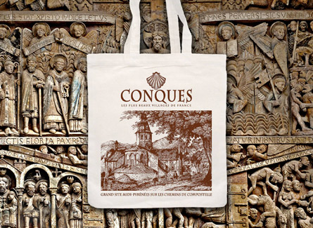 Sac tote bag Conques