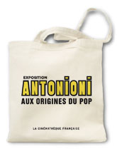 sac en toile coton expo cinema antonioni